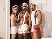 Another porn gay orgy from MEN