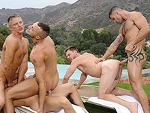Adam Killian gay orgy video