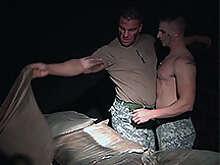 Braden Charron and Logan Vaughn at Drill My Hole