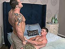 Teddy and Curtis: Bareback