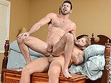 straight guy fucked by huge cock - Billy Santoro